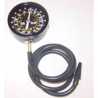 Fuel Pump & Vacuum Tester Pressure Test Auto Gauge New