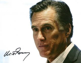 Mitt Romney Signed Autograph Republican 2012 RARE Proof Look