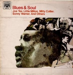 Blues and Soul Various Artists LP 10 Track Mono Pressing Including