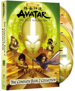 Avatar The Last Airbender Book 2 Earth Complete Collection Fullscreen