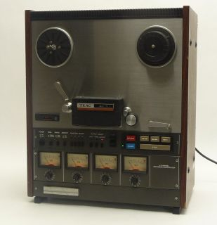 Vintage Teac Tascam 40 4 4CH Pro Reel to Reel Analog Tape Deck