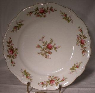 Johann Haviland China Moss Rose Salad or Dessert Plate