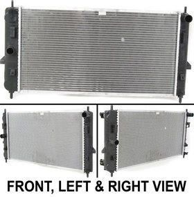 New Radiator Chevy Plastic 22717621 Chevrolet Cobalt 2009 2008 2007