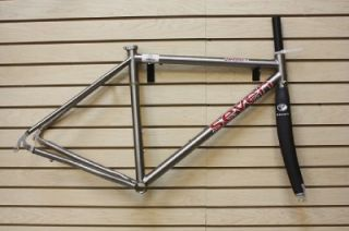 2011 Seven Axiom SLX Titanium Frame and Seven Carbon Fork Road Bike TI