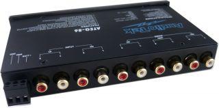 Band Pre Amp Parametric Equalizer EQ w Dual Input Subwoofer Control