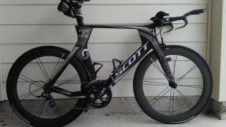 Scott Plasma Premium 56cm (size L) Sram Red Black Edition Tri Bike