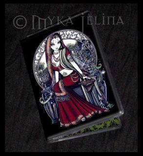 Magic Garden Fairy Art ID Business Card Holder Ayanna