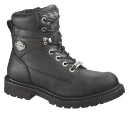 Harley Davidson Mens Motorcycle Austwell Boots 9 5 New