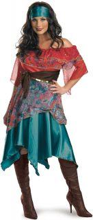 C407 Ladies Bohemian Fortune Teller Circus Gypsy Fancy Dress Halloween