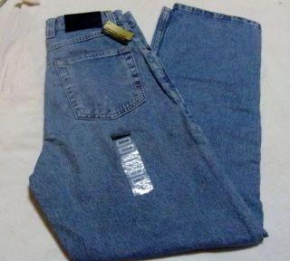 Axist Mens 5 Pocket Blue Denim Jeans 2 Sizes 30x30 44x32