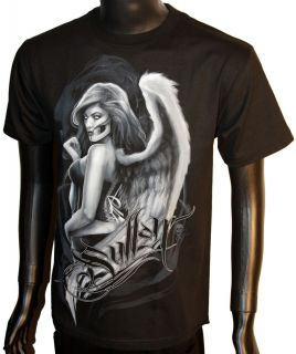 Sullen Clothing Art Collective Temptress Mens Tee Graphic Black T