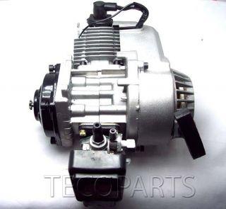 49cc 2 Stroke Engine Motor ATV Quad Bike Mini Pocket