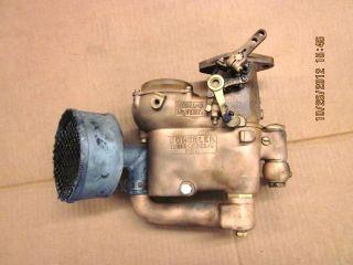 Vintage Auto Schebler Brass Carburetor No Reserve