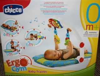 Chicco Baby Trainer Infant Toddler Toys Gym Seat Activity Mat