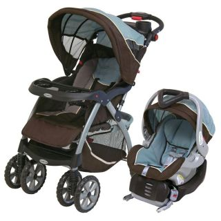 Baby Trend Travel System w/ Flex Loc Infant Car Seat Stroller Baby