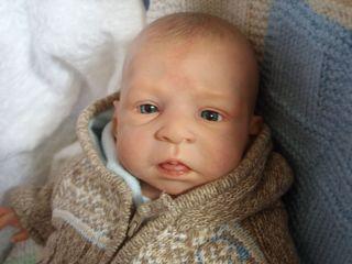 BABI BACH REBORNS REBORN BABY BOY DOLL by Olga Auer JAMIE Experienced