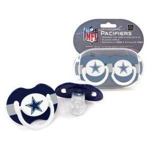 NFL 2 Pacifier Baby Fanatic Dallas Cowboys