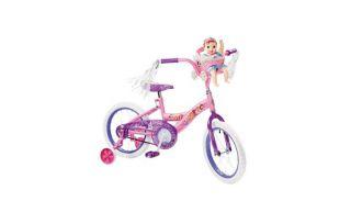 Disney Princess Girls Bicycle W/ Training Wheels, and Baby Doll Seat