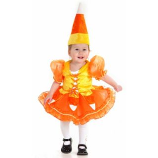 Baby Candy Corn Infant Toddler Halloween Costume