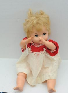 Vintage 1966 Baby Magic 18 Doll Deluxe Reading Corp Original Clothing