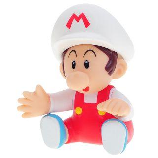 description cute super mario figure display toy baby mario new