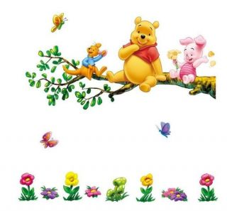 Piglet Friends Kids Nursery Baby Room Play Wall Stickers Decals