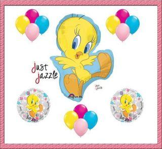 Looney Tunes Flower Birthday Party Baby Shower Balloon Set Supplies