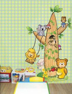 Decal Vinyl Decor Sticker Lovely Coala Nursery Tree Baby Kids