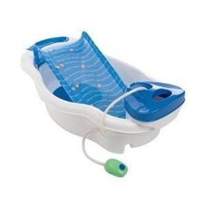 Baby Infant Newborn Toddler Bath Tub Shower Blue