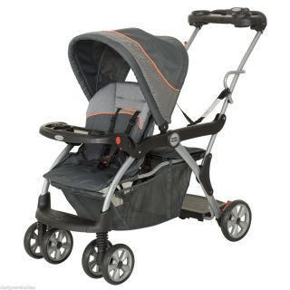 Baby Trend Sit N Stand Deluxe Double Stroller VANGUARD SS74740 BRAND