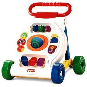 Fisher Price Activity Walker Push Baby Toy K9875 Developmental New