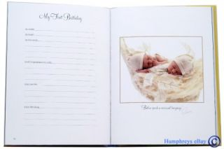 BNew Book * Anne Geddes   Baby Record Book * RRP $24.95