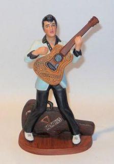 Vtg Elvis Presley Porcelain Figurine 1987 Avon 7 Tall
