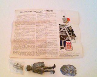 FIELD MARSHALL AUGUST VON MACKENSEN IMPERIAL GERMAN CAVALRY 1915 by
