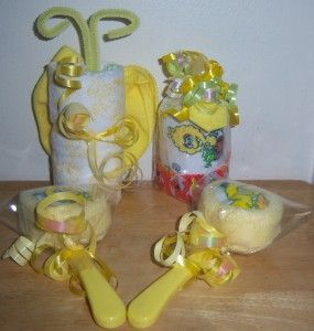 Sesame Street Baby Shower Favors, Big Bird, Cupcake, Lollipop