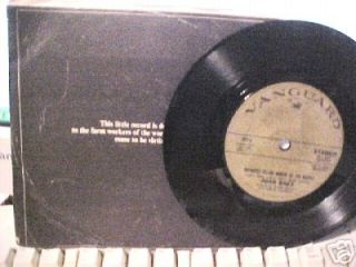 Joan Baez 7 33 1 3 Maria Dolores Deportee Stereo