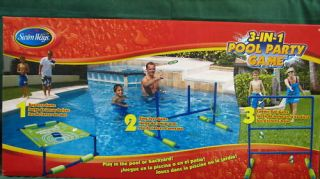 Swimming Pool Party Games Bag Ring Toss Ladder Ball