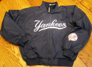 MAJESTIC NEW YORK YANKEES AUTHENTIC COLLECTION JACKET SIZE XL