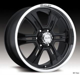 20x9 6x135 ET35 Black Carroll Shelby CS46 Wheel Rims 04 11 Ford F150