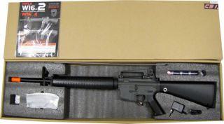JG M16 M16A2 6610 Auto Electric Airsoft Soft Air Rifle Gun AEG Free