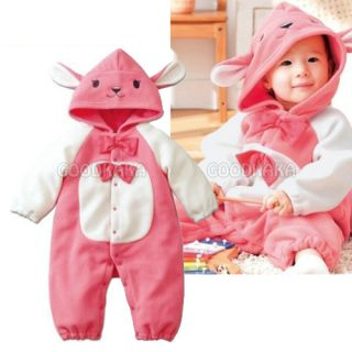 Lovely Rabbit Costume for Baby Girl Toddler Romper One Piece Outfit