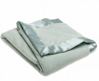 Edge Kids Chamois Super Plush Crib Blanket Boy Girl Deluxe Baby
