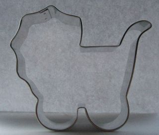Baby Carriage Stroller Cookie Cutter 4 Inch