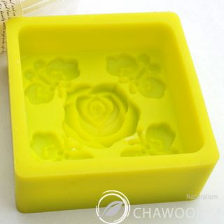 Oriental Rose Silicone Molds Soap Molds for Handmade Soap Making