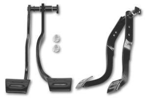 Manual Transmission Brake Clutch Pedal Set Includes Bushings Pin Clip