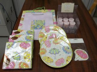 Lot of Its A Shower Baby Shower Party Supplies Girl
