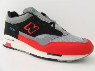Mens New Balance Trainers 1500 RBB Red Retro Deadstock Sneakers Made