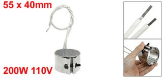 110V 200W 55 x 40mm Injected Mould Heating Element Band Heater