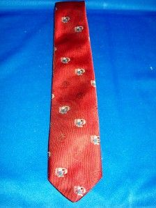 disney mickey mouse pilot airplane themed tie poly euc