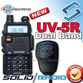 BAOFENG UV 5R VHF UHF Dual Band Radio 136 174 400 480Mhz 65 108MHz